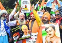 NGOs demand martyr status to Bhagat Singh, Rajguru, Sukhdev, Azad