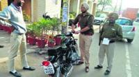 Police crack down on Bullet bikes with altered silencers