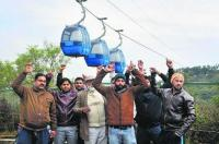 Glaring violations of SOPs in Jammu ropeway mock drill
