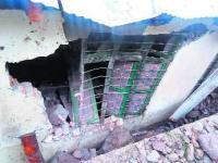 School damaged by landslide in Doda district; no casualty