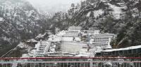 Chopper, ropeway services shut after snow in Vaishnodevi