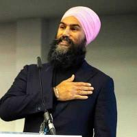 Sikh leader makes no secret of his ambition to be Prime Minister of Canada