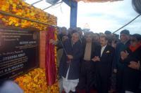 Guv, Gadkari inaugurate 1.2-km bridge over Ravi