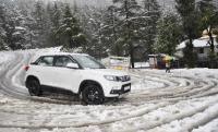 Fresh snow in Mandi, Kullu Lahaul-Spiti