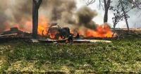 IAF's Jaguar fighter jet crashes in UP's Gorakhpur; pilot safe