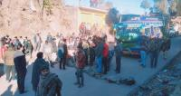 Rajouri faces 11-hr power outage, locals out on streets