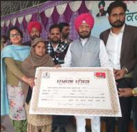 Loan waiver for 2,700 farmers
