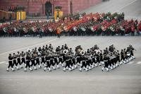 Indian tunes set mood at Beating Retreat ceremony, fascinating crowds at Rajpath