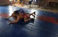 Wrestlers fight it out till the last
