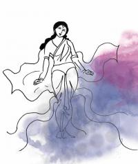 Flowing into Indian folklore