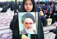 Iran fetes 40 years of Islamic revolution at Khomeini tomb