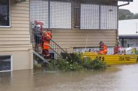 Military steps in as Australia floods bring crocodiles to the streets