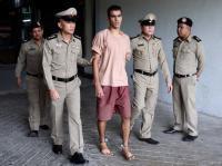 'Don't send me to Bahrain': Refugee footballer, feet shackled, to Thai court