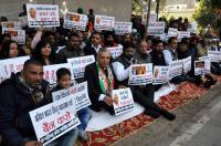 Cong protests against Hindu Mahasabha