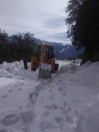Fresh snow in Pangi