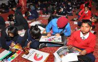 200 students take part in painting contest