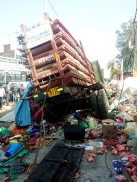Three of family die in road mishap