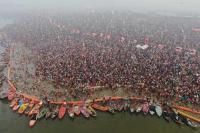 2 crore expected to take holy dip at Kumbh on Basant Panchami