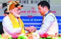 Diplomatic skirmish over Modi's visit to Arunachal
