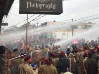 Cop among 11 injured during teachers' protest in Patiala