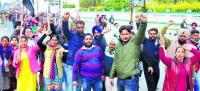 Traffic bottlenecks as teachers descend on Patiala roads