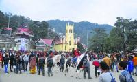Hills in Himachal see partly cloudy skies; rain, snow likely this week
