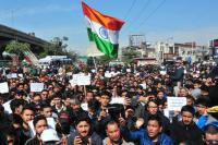 Kargil residents protest, demand rotational HQ