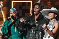 Women rock the Grammys