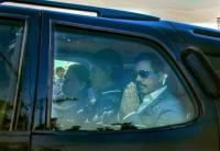 Vadra, mother appear before ED in Jaipur