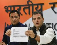 Rahul accuses Modi of treason, seeks criminal action; BJP rejects charge