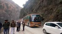 Chandigarh-Manali highway restored after landslide in Mandi