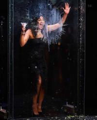 Even with a martini in hand, Priyanka Chopra did not flinch
