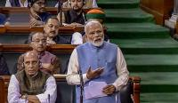 Pitch for majority govt, potshots at Rahul by PM in final address to 16th Lok Sabha
