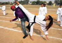 Gaganpreet, Kashvi declared best athletes at girls college