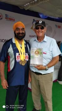 3 gold medals for veteran Sidhu