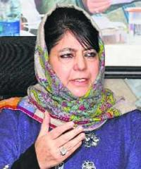 Centre dividing state on religious, lines: Mehbooba