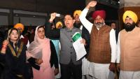 AAP stages walkout over Jallianwala apology
