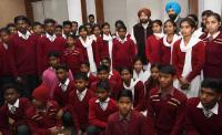 CM treats children home inmates at Vidhan Sabha
