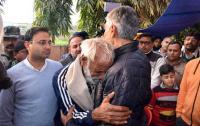 Jakhar visits martyr's kin in Dinanagar