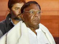 On 4th day of dharna, Puducherry CM asks supporters to ensure law and order is not disrupted