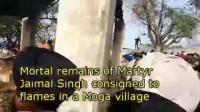 Punjab villages bid tearful farewell to its valiant martyrs.