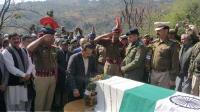 Pulwama martyr laid to rest with state honours in Rajouri