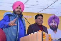 Stop politics over soldiers' bodies, says Sidhu