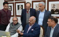Punjab Guv launches health app