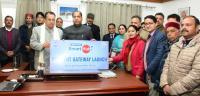 CM launches 7 online services of Shimla MC