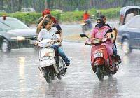 Light to moderate rain in Punjab, Haryana
