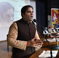Parliament library loneliest place on earth: Varun Gandhi