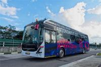 Volvo ने बनाई अपनी पहली ड्राइवरलैस बस, सिंगापुर में शुरू हुई टैस्टिंग