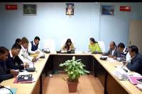 जिला निर्वाचन अधिकारी ने नेताओं के साथ की बैठक, आचार संहिता का पालन करने के दिए निर्देश