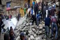 जम्मू-कश्मीर के डोडा जिले में भूस्खलन, 36 से अधिक दुकानें दबीं